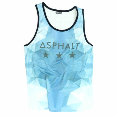Asphalt Yacht Club Backwash trikó Blues