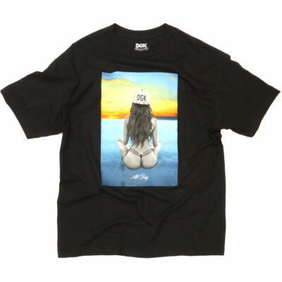 DGK Inner Peace póló Black