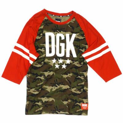 DGK Worldwide LS raglan Camo-Red