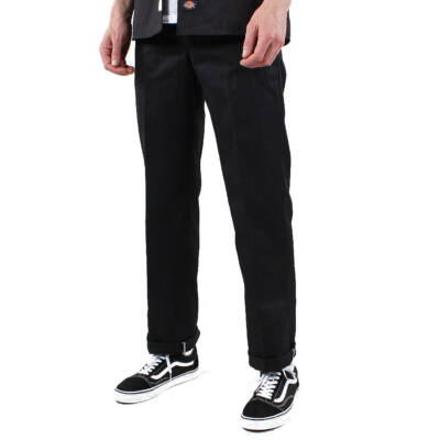 Dickies Cotton Work Pant 873 nadrág Black