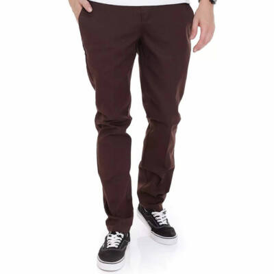 Dickies Slim Fit Work Pants nadrág Chocolate