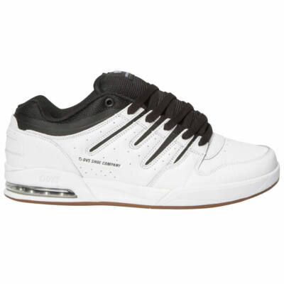 DVS Tycho cipő White/Gum Leather
