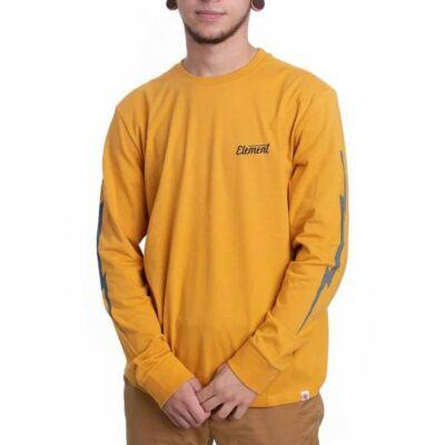 Element Gizmo ls póló Mineral Yellow