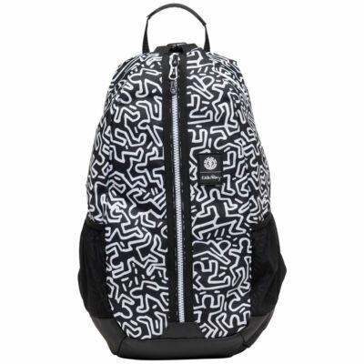 Element Jaywalker hátizsák Keith Haring Black