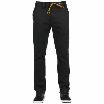 ExpeditionOne Drifter Chino Slim Fit nadrág Black