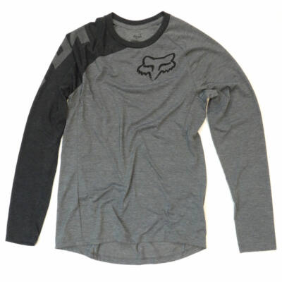 Fox Distinguish raglan Heather Grey