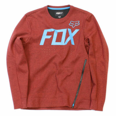 Fox Krank Tech pulóver Cranberry