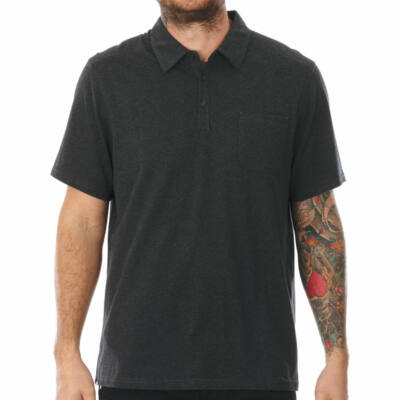 Fox Legacy Polo póló Black Heather