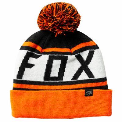 Fox Throwback sapka Black Orange