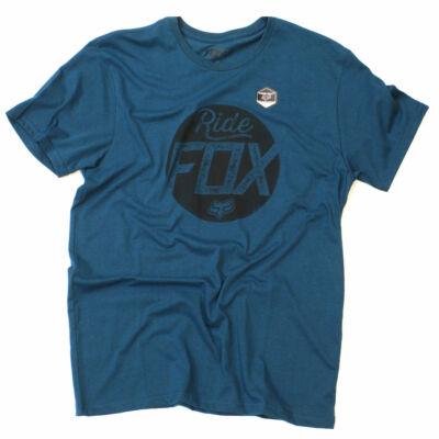 Fox Turnstile póló Maui Blue