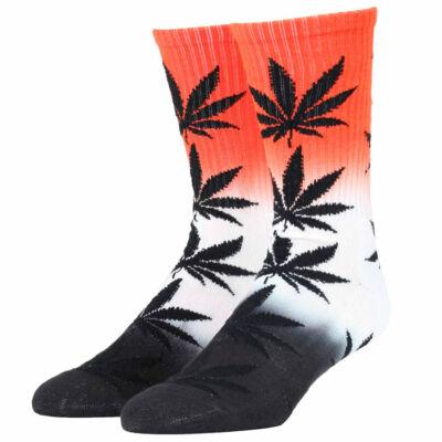 HUF Plantlife Tri Fade zokni Infrared Grey Black 1 pár