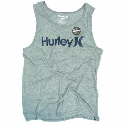 Hurley One&Only Push Tri-Blend trikó Charcoal
