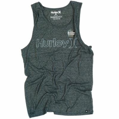 Hurley One&Only Tri-Blend trikó Black
