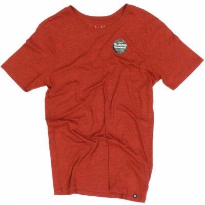 Hurley Staple Tri-Blend póló Gym Red
