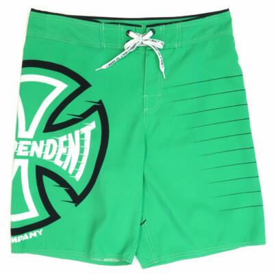 Independent Lines Boardshort úszónadrág Green
