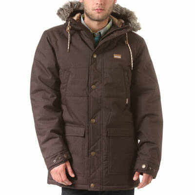 Iriedaily City Arctic kabát Brown Melange