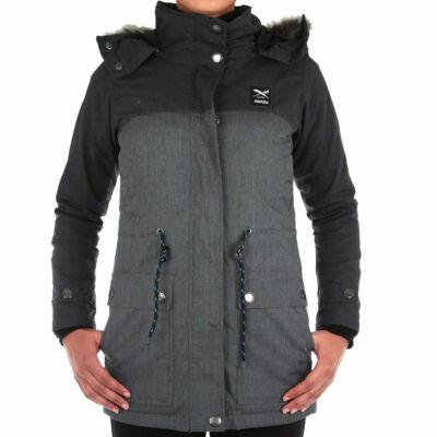 Iriedaily Koerte kabát Anthracite Melange