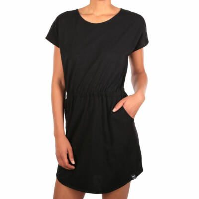Iriedaily Leak Dress női ruha Black Melange