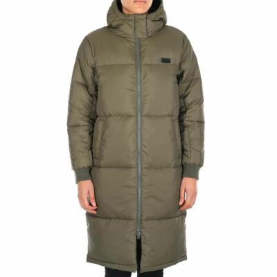 Iriedaily Quilted hosszú kabát Olive