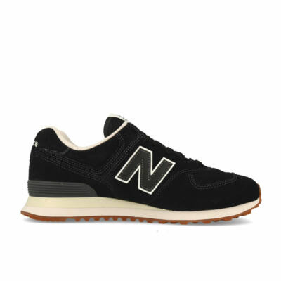New Balance 574 cipő Black & Off White