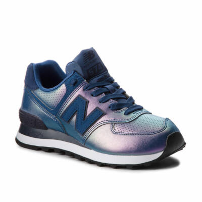 New Balance 574 cipő Metallic