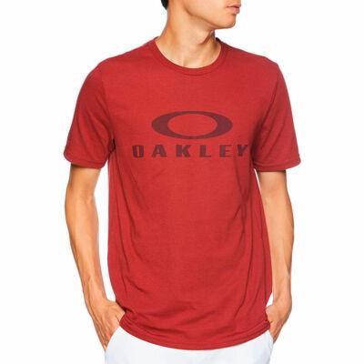 Oakley O Bark póló Iron Red