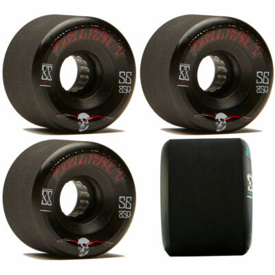 Powell Peralta Soft Slide G-Slides kerék szett 56mm 85A Black 4db