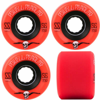 Powell Peralta Soft Slide G-Slides kerék szett 56mm 85A Red 4db