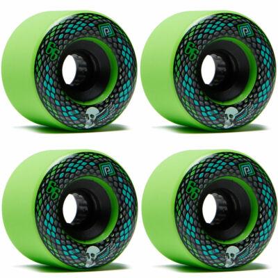 Powell Peralta Soft Slide Snakes kerék szett 66mm 75A Green 4db