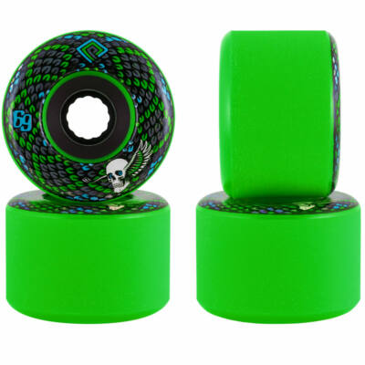 Powell Peralta Soft Slide Snakes kerék szett 69mm 75A Green 4db