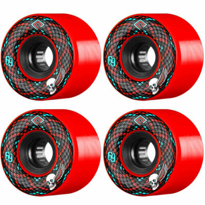 Powell Peralta Soft Slide Snakes kerék szett 69mm 75A Red 4db