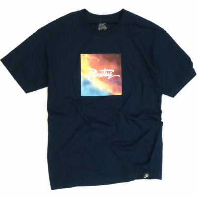 Primitive Galaxy póló Navy