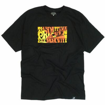 Primitive Hippie póló Black