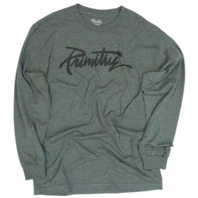 Primitive Label ls póló Grey