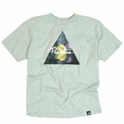 Primitive Triangle póló Heather Grey