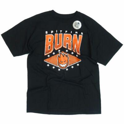 Spitfire Burn póló Black