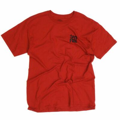 Spitfire Label póló Red