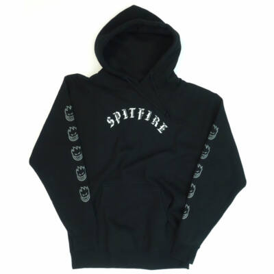 Spitfire Label pulóver Black