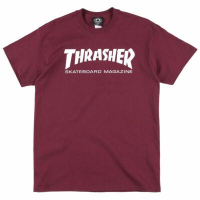 Thrasher Skate Mag póló Maroon