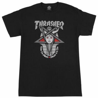 Thrasher Goddess póló Black