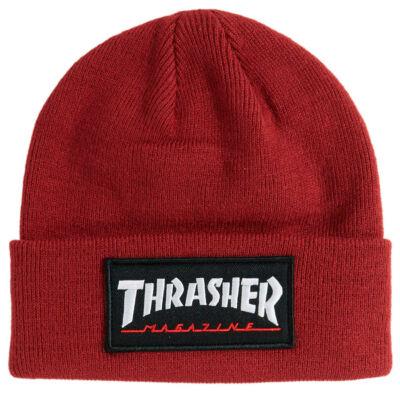 Thrasher Logo Patch sapka Maroon