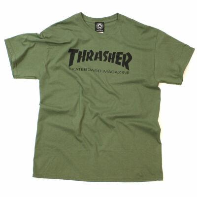 Thrasher Skate Mag póló Green