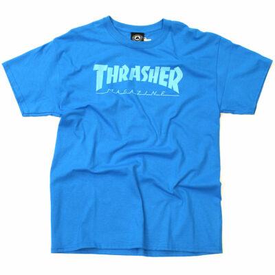 Thrasher Logo póló Blue