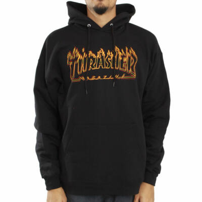 Thrasher Richter pulóver Black