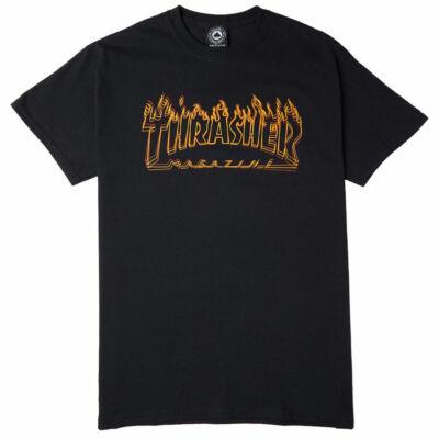 Thrasher Richter póló Black