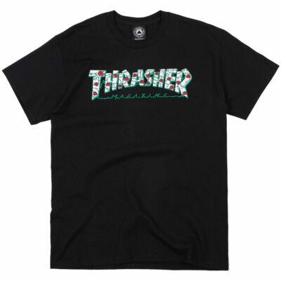 Thrasher Roses póló Black