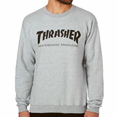 Thrasher Skate Mag Crew pulóver Grey Heather
