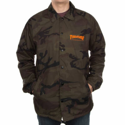 Thrasher Light széldzseki Camo/Orange
