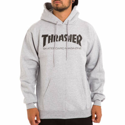 Thrasher Skate Mag pulóver Grey Heather
