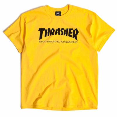 Thrasher Skate Mag póló Yellow